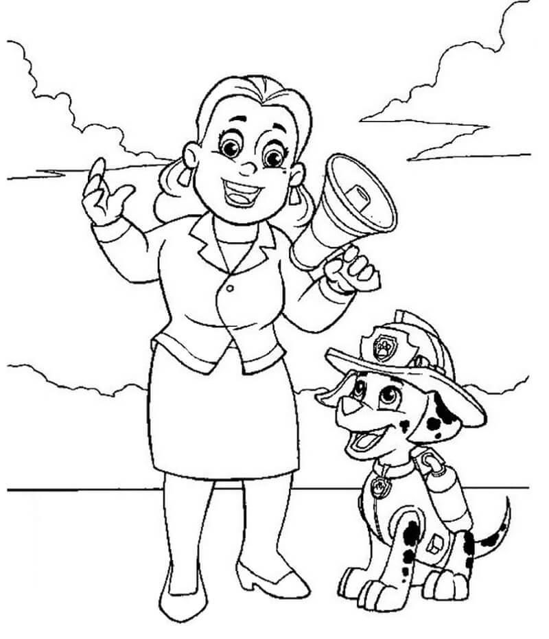 Marshall and Mayor Goodway