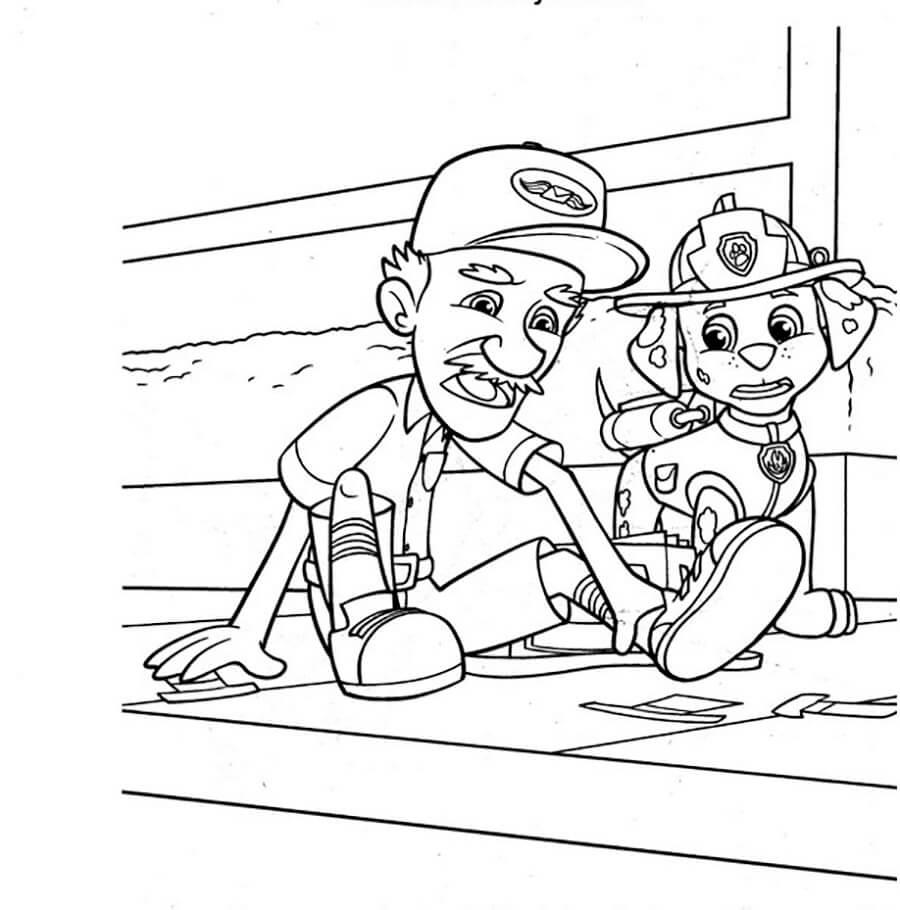 Marshall and Mr. Postman