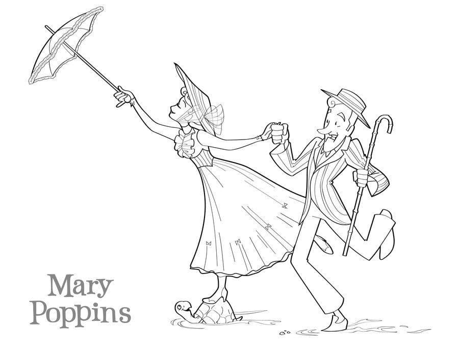 Mary Poppins Animation