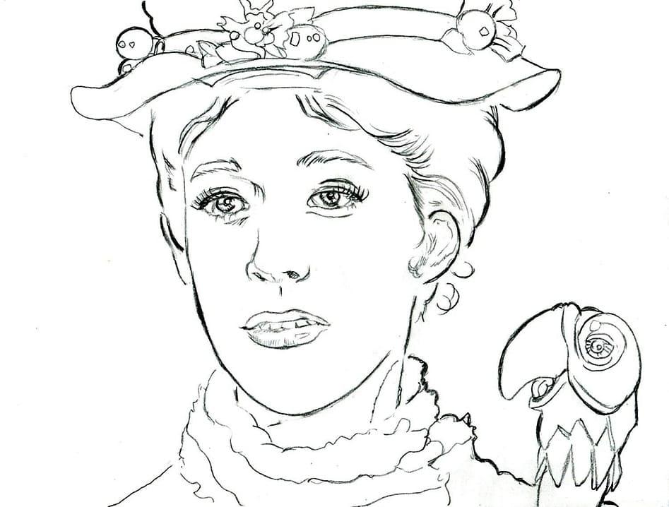 Mary Poppins's Face