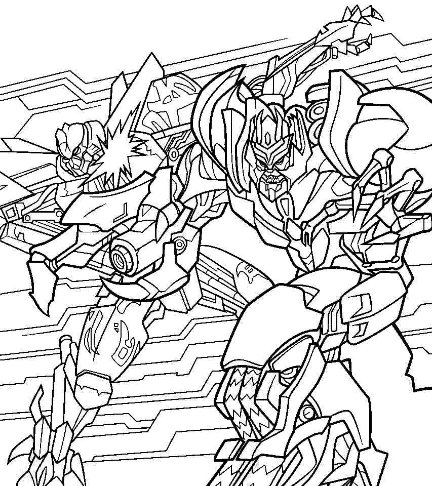 Megatron Fighting