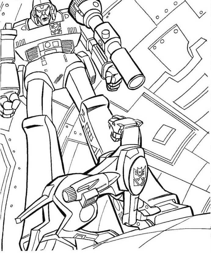 Megatron and Robot Dog