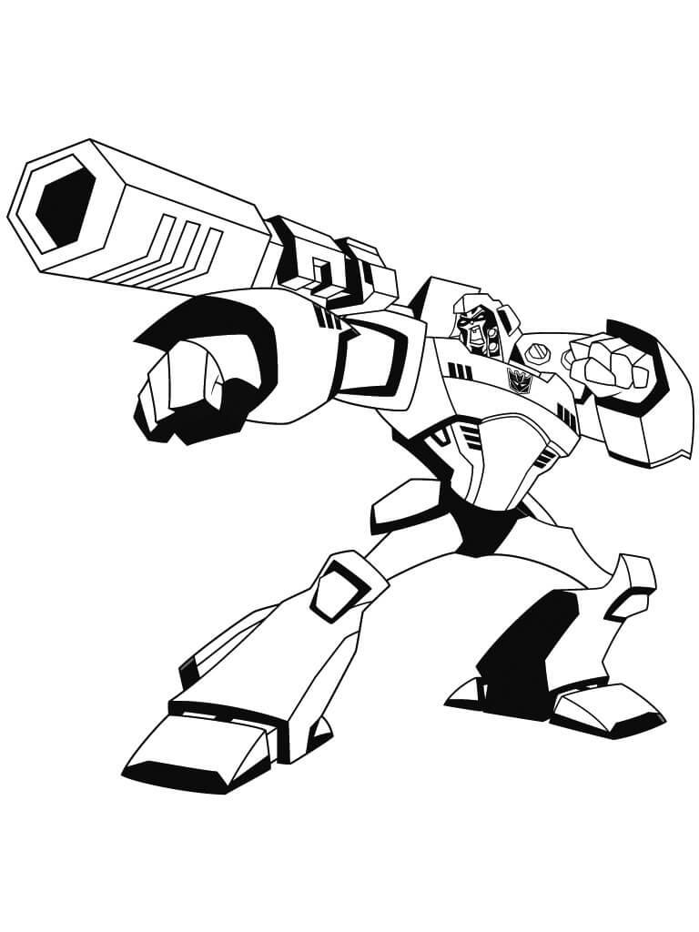 Megatron from Cartoon