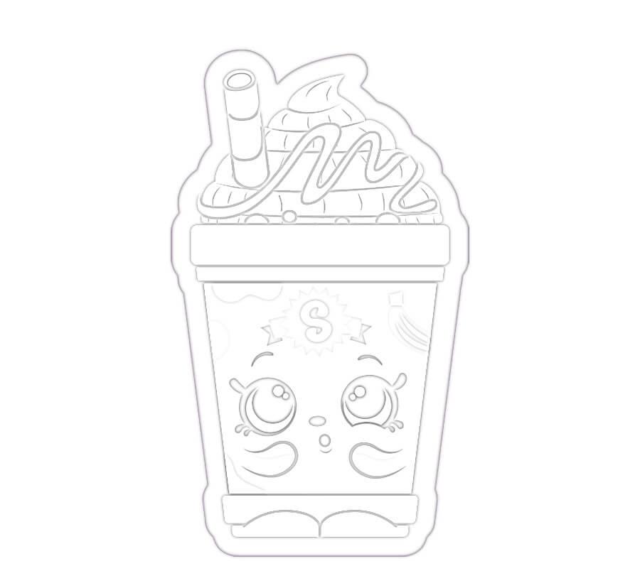 Melba Milkshake Shopkin