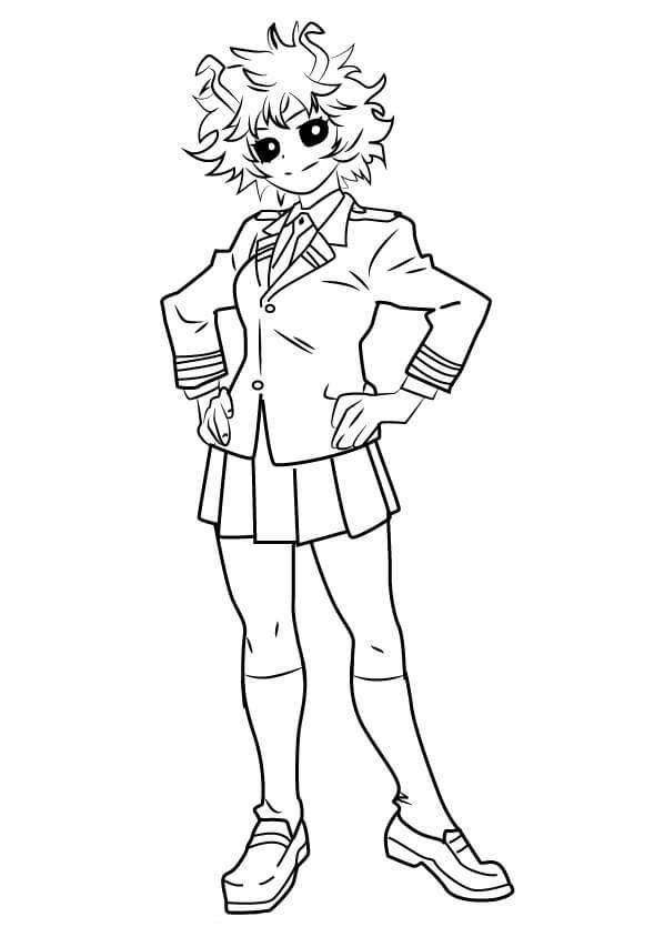Mina Ashido from My Hero Academia