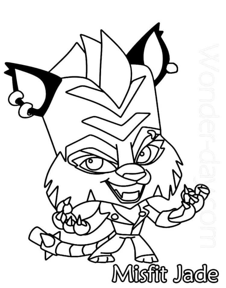 Misfit Jade Zooba