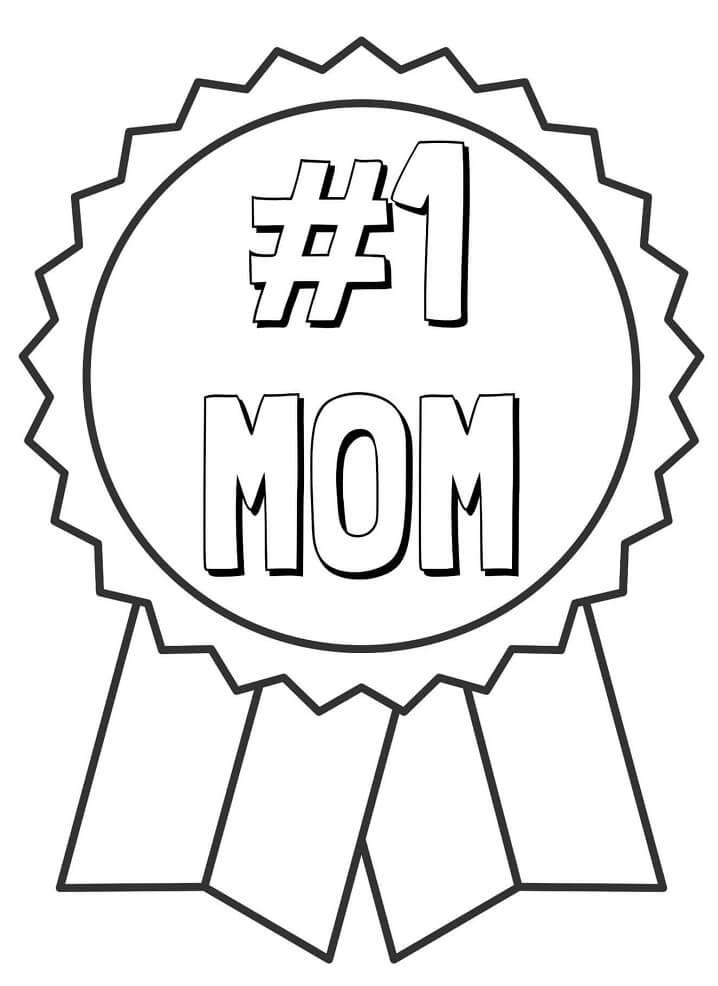 Mom Ribbon