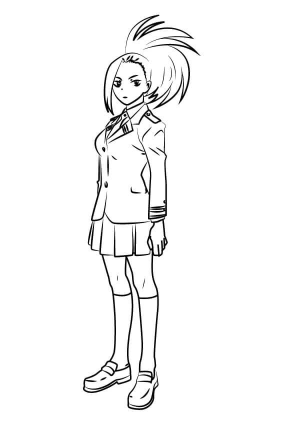 Momo Yaoyorozu from My Hero Academia