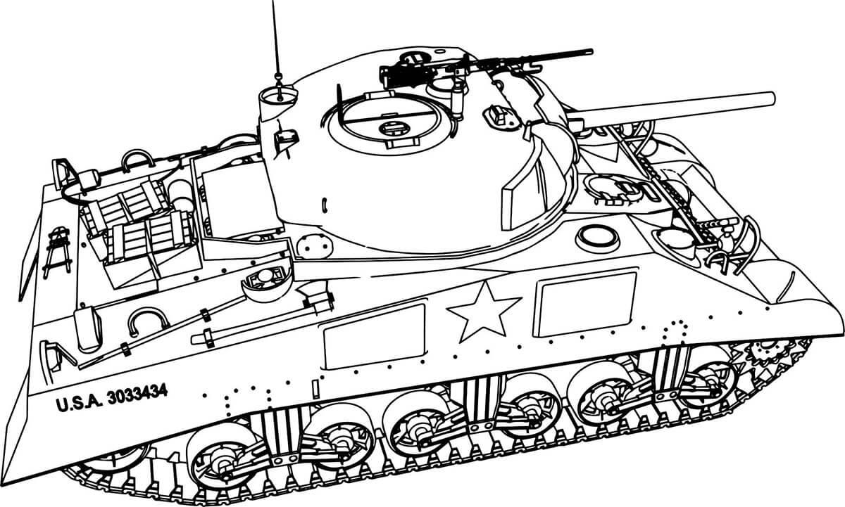 Mordern Tank