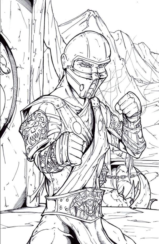 Mortal Kombat Sub-Zero 6