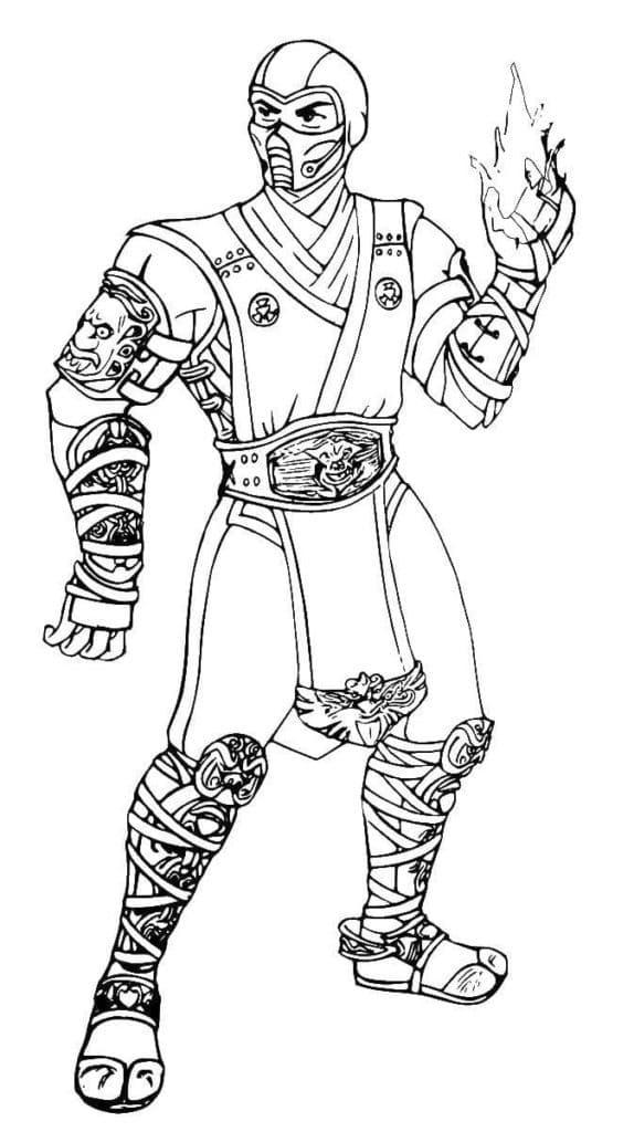 Mortal Kombat Sub-Zero 7