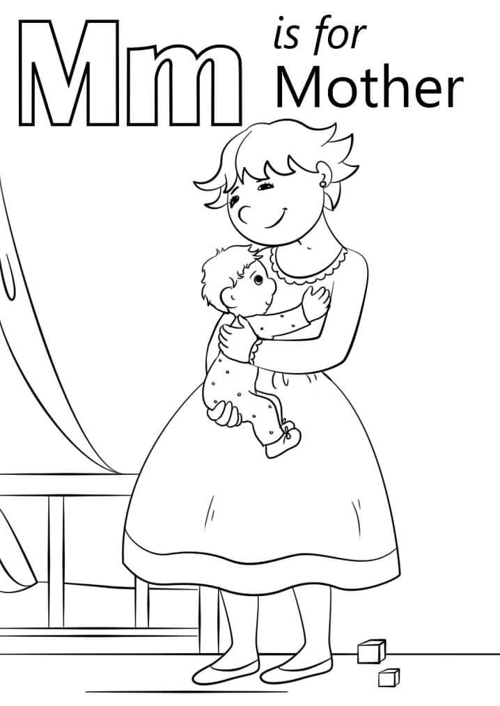 Mother Letter M