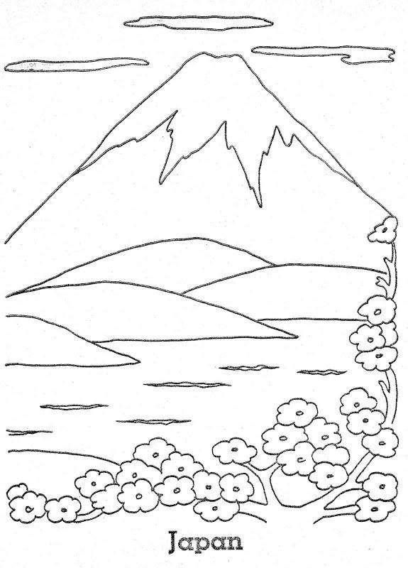 Mountain in Japan