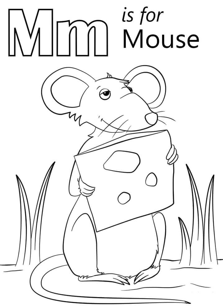 Mouse Letter M