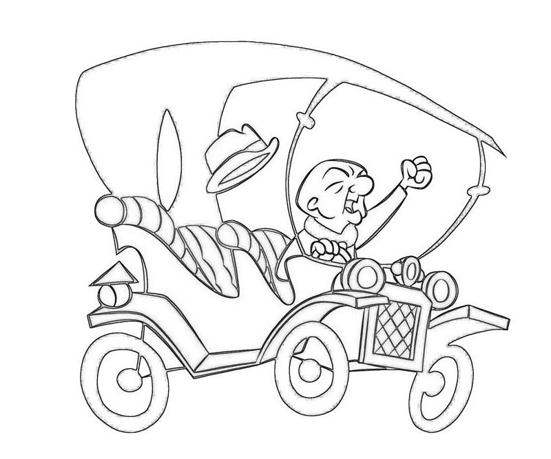Mr. Magoo Driving