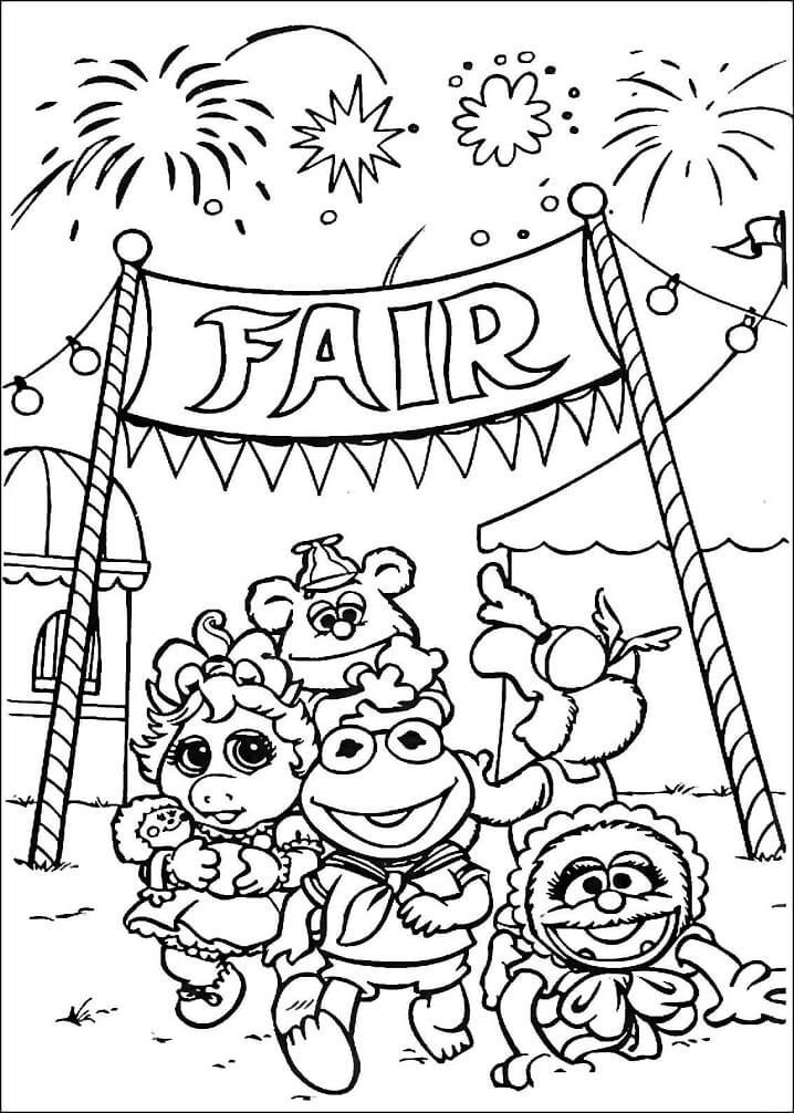 Muppet Babies Goes To Fair Market