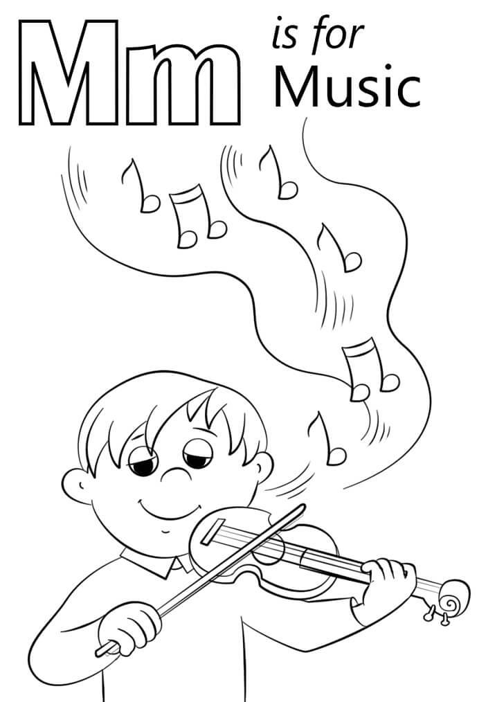 Music Letter M