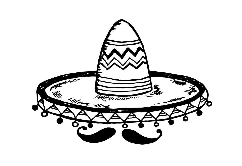 Mustache and Sombrero