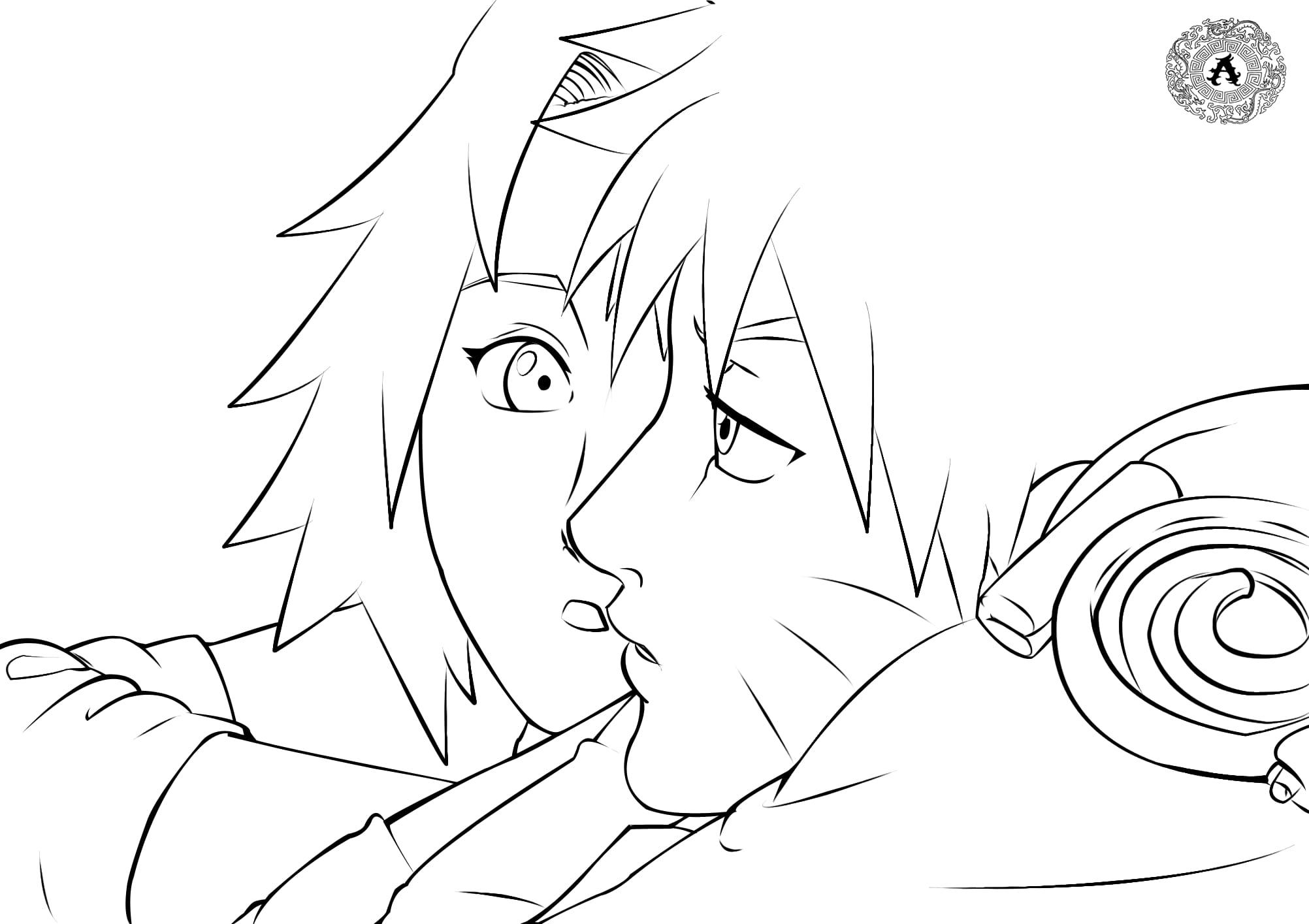 Naruto and Sakura Haruno