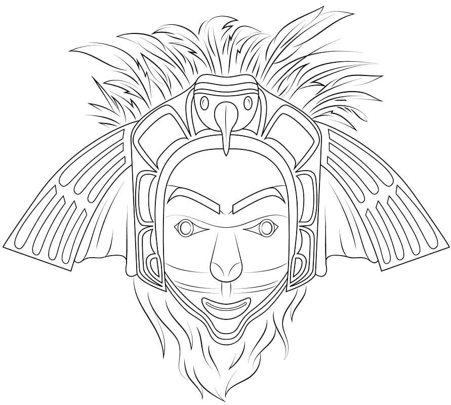 Native American Eagle Mask