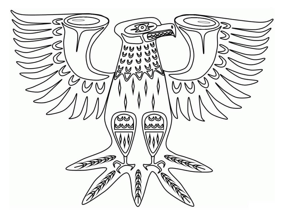 Native American Eagle Symbol