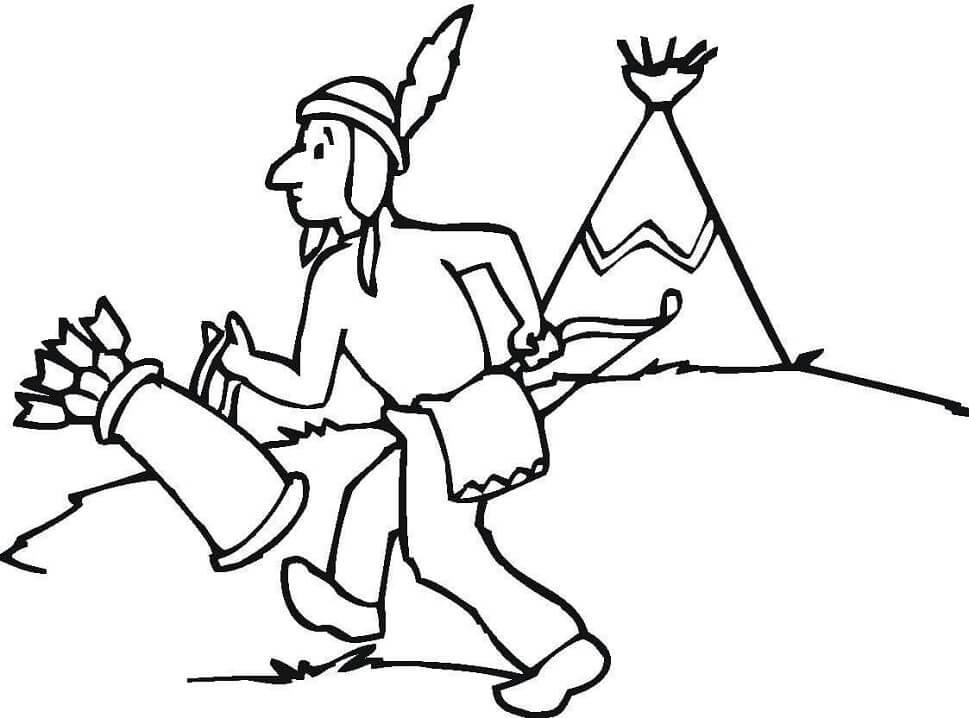 Native American Hunter 1