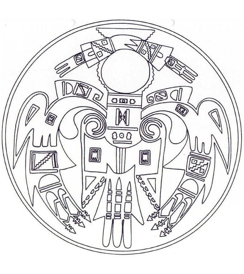 Native American Mandala 2