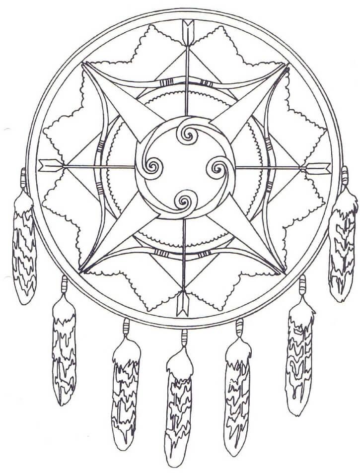 Native American Mandala 3