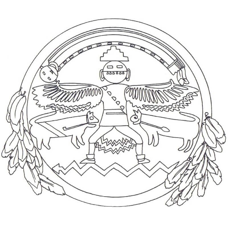 Native American Mandala
