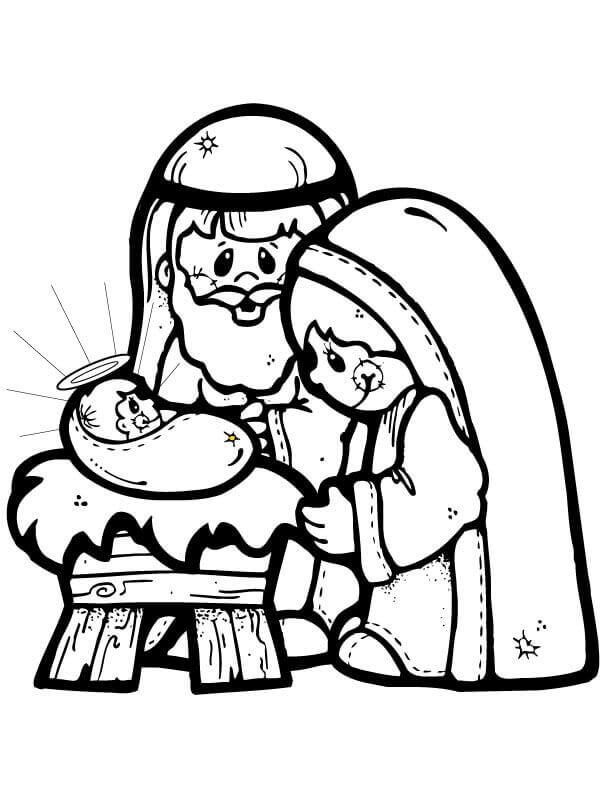 Nativity Scene Baby Jesus