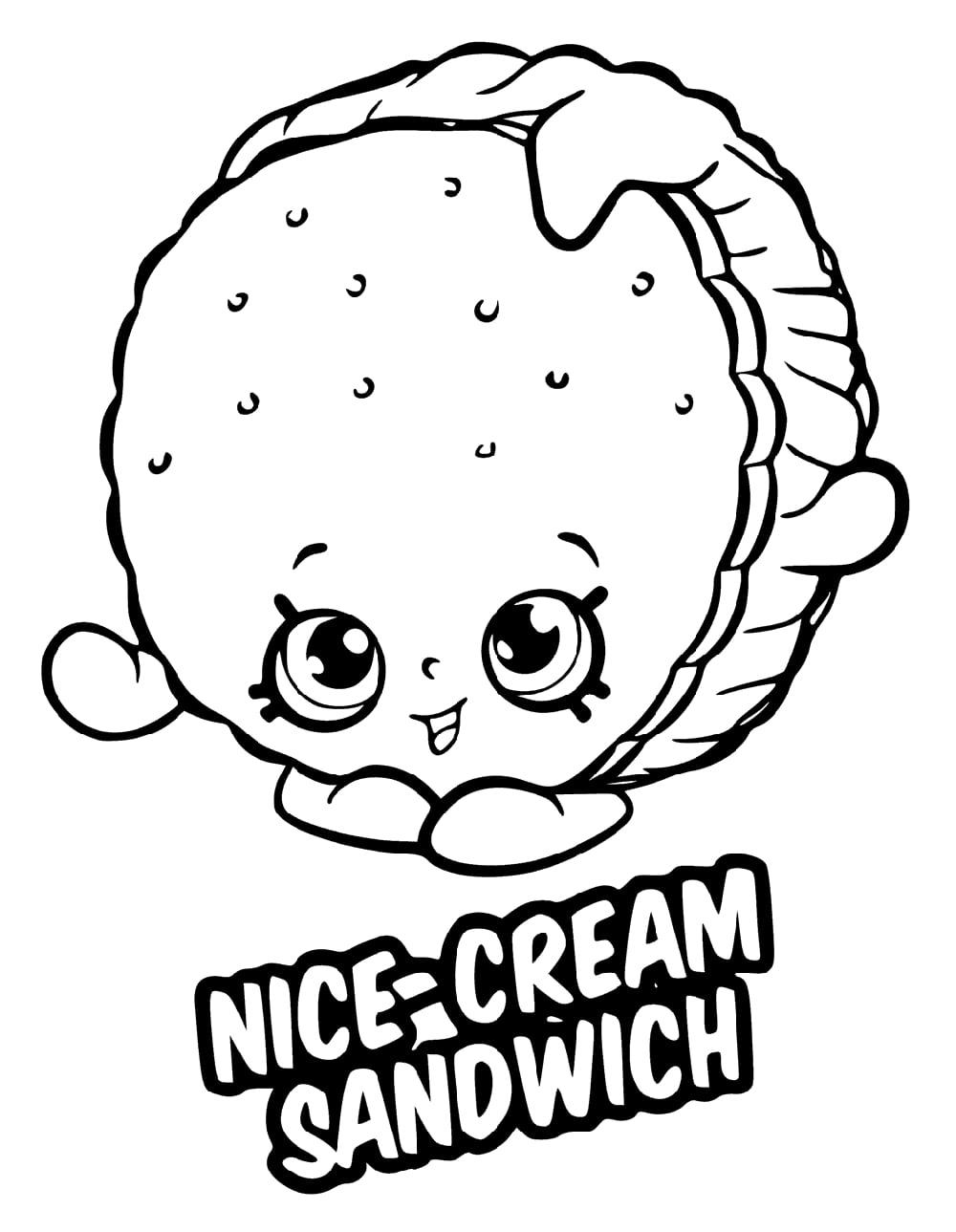 Nice Cream Sandwich Shopkin