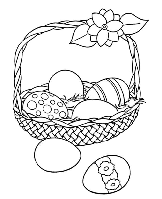 Nice Easter Basket