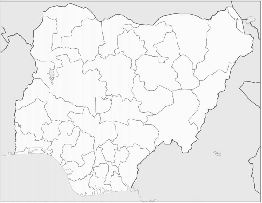 Nigeria's Map