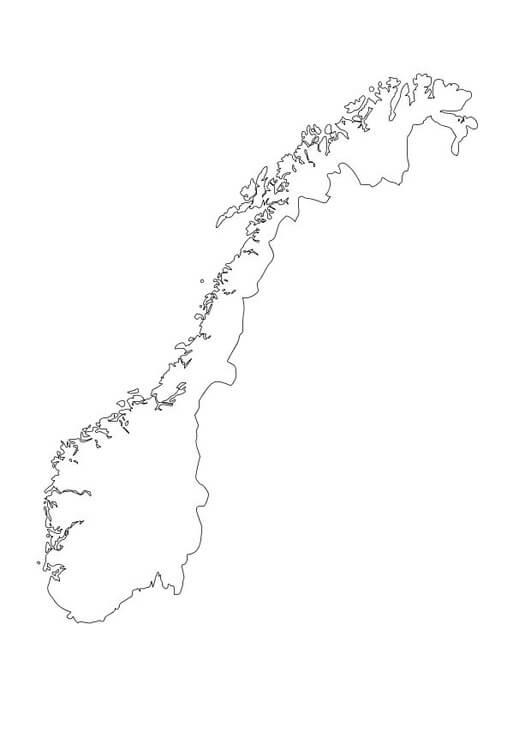 Norway Map 1