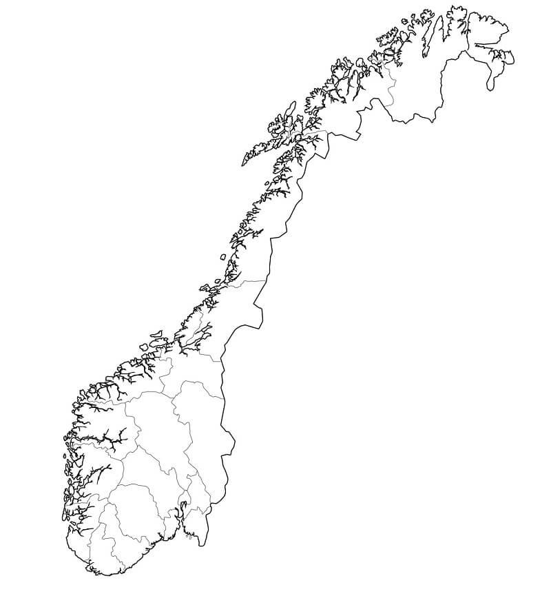 Norway Map 2