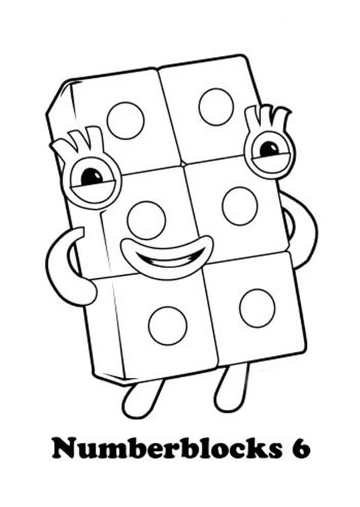 Numberblocks Coloring Pages - Free Printable Coloring ...