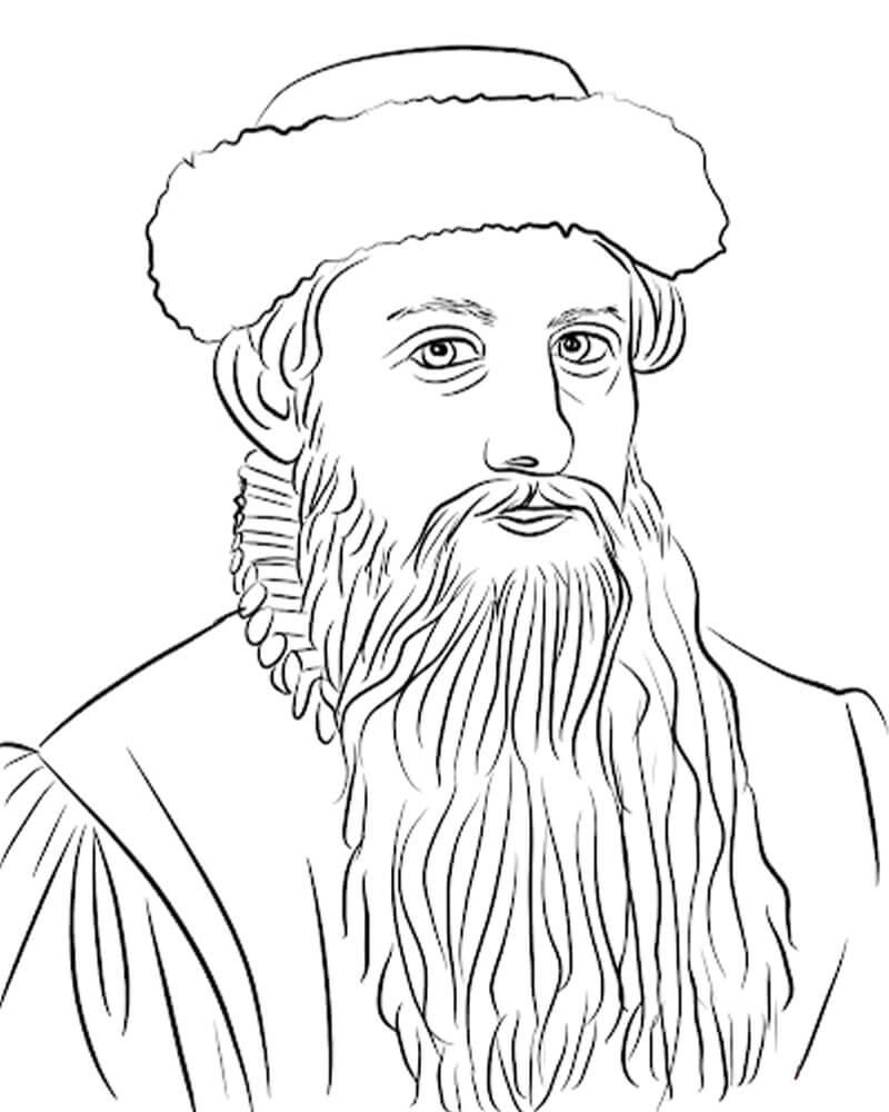 Official Johannes Gutenberg
