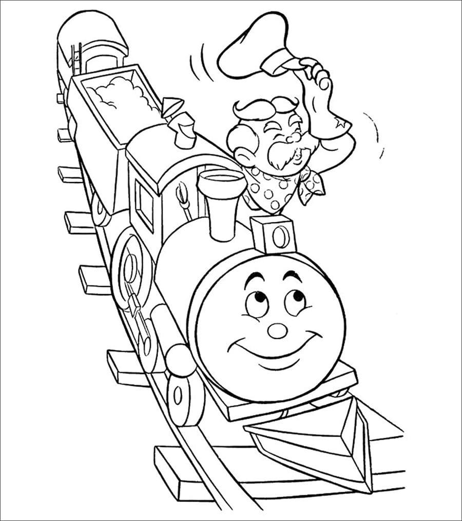 Old Train Driver