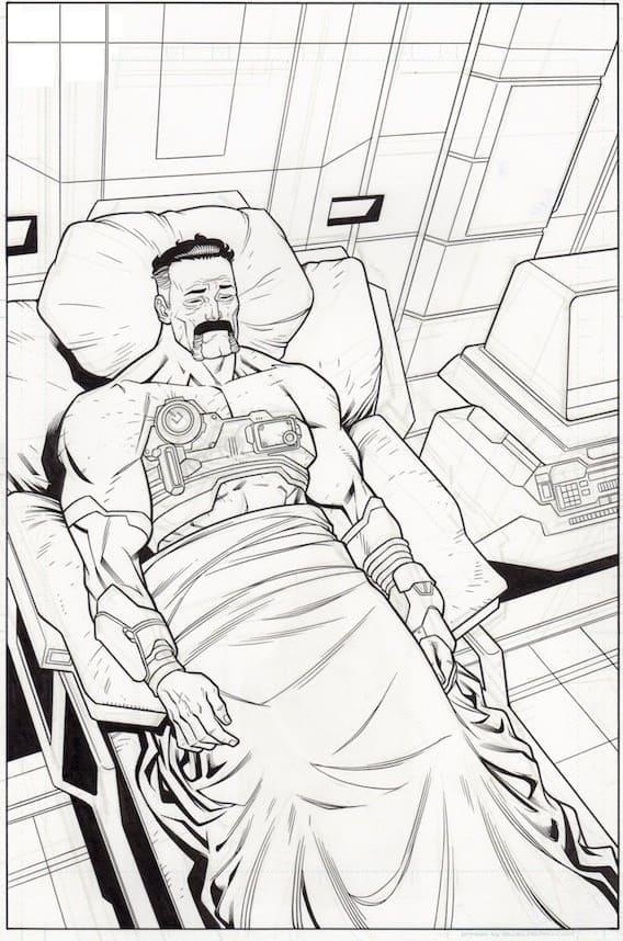 Omni-man in Hospital