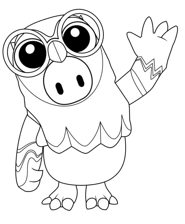 Owl Skin Fall Guys