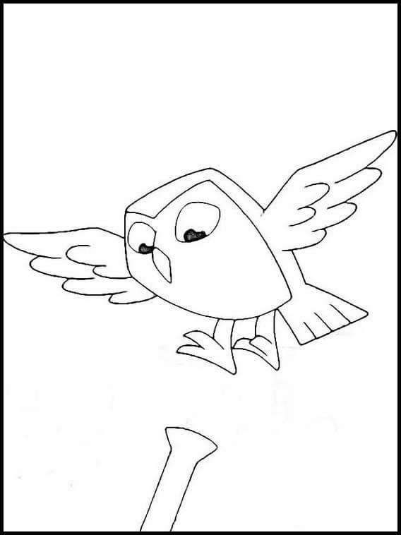 Owlbert Flying