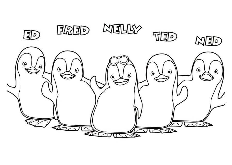 Ozie Boo Characters