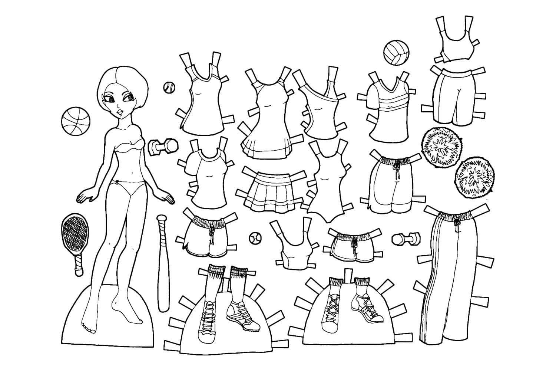 Paper Dolls 21