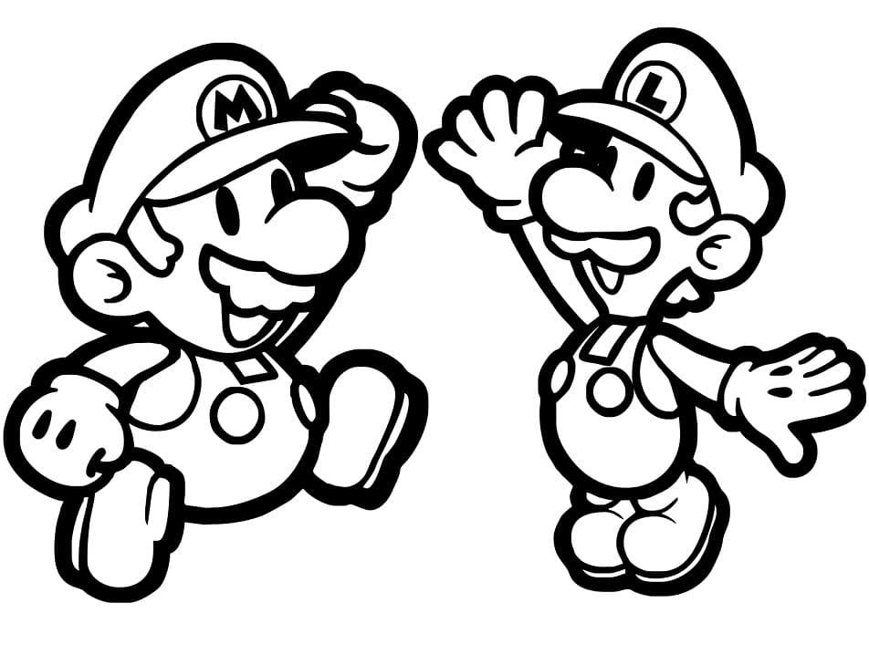 Paper Mario and Luigi