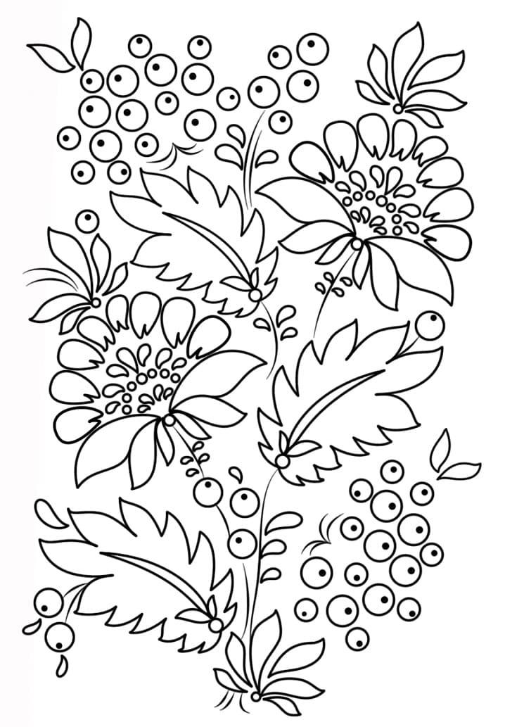 Petrykivka Pattern