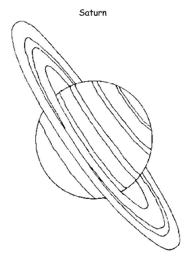 Planet Saturn 1