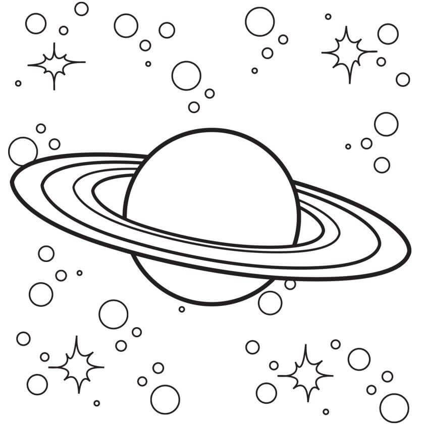 Planet Saturn 3