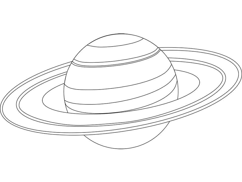 Planet Saturn 7