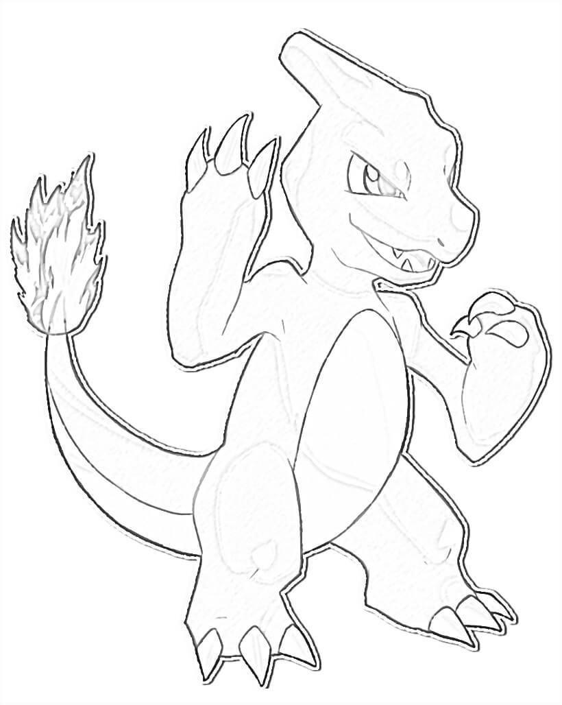 Pokemon Charmeleon 2