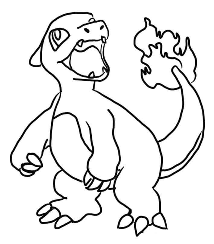 Pokemon Charmeleon